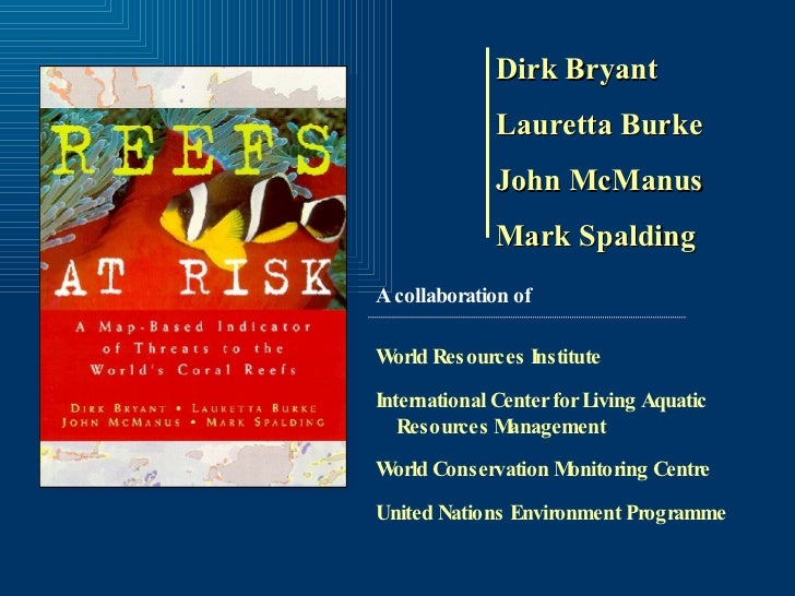 Reefs at Risk - 1998