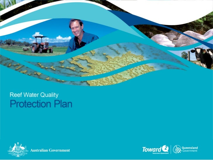 Reef water quality protection plan, bob speirs
