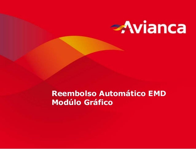 1 Reembolso Automático EMD Modúlo Gráfico