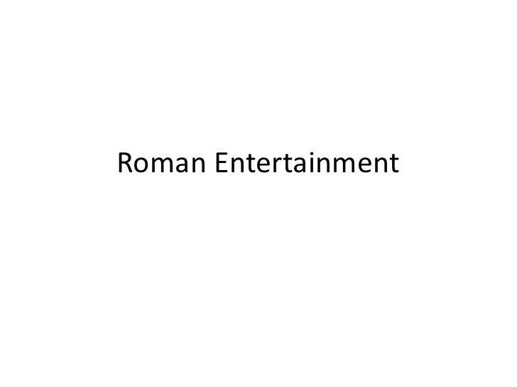 Roman Entertainment<br />