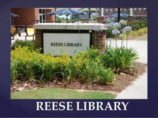 Reese library power_point_2013