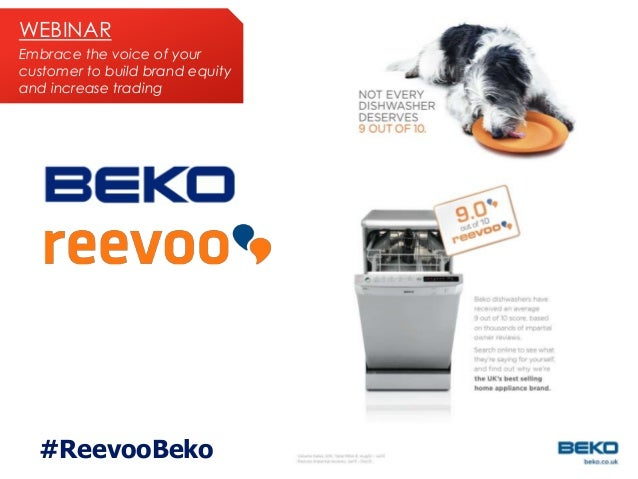 WEBINAR Embrace the voice of your customer to build brand equity and increase trading  #ReevooBeko