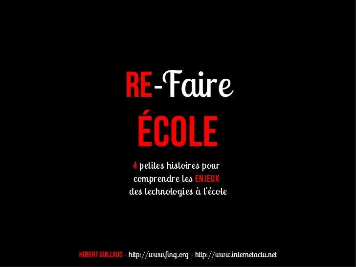 Refaire Ecole