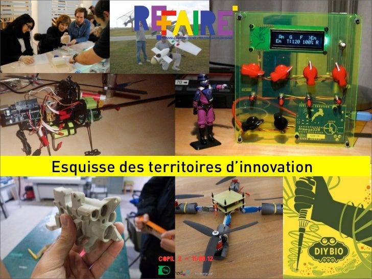 Esquisse des territoires d'innovation