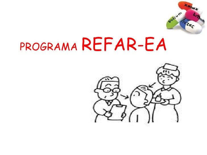 PROGRAMA   REFAR-EA