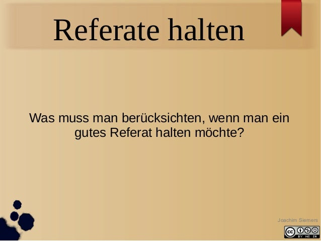 Referate Tipps