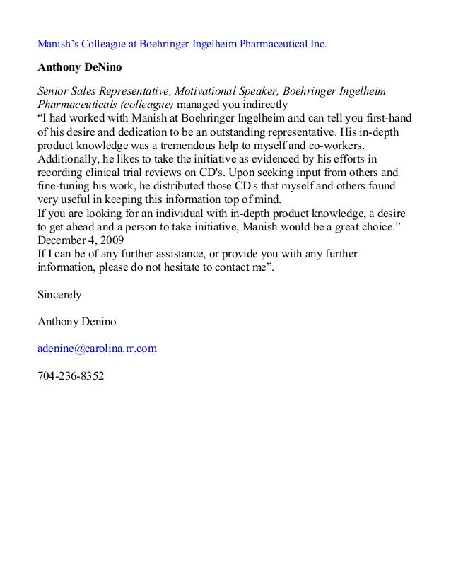 sle letter of recommendation for letter of