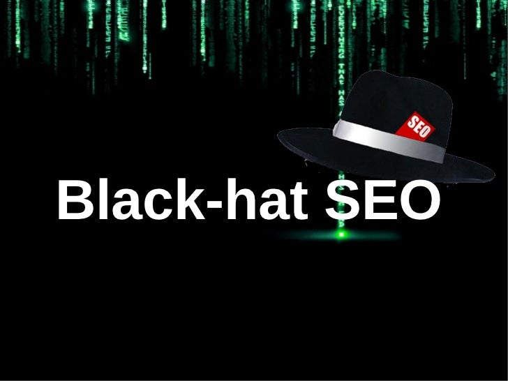 Black-hat SEO