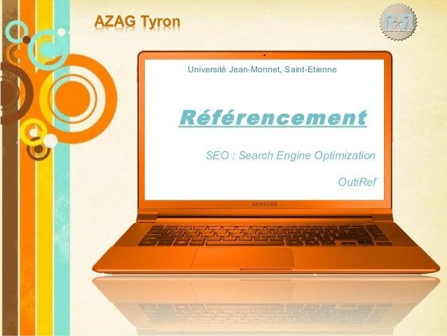 Pour plus de modèles : Modèles Powerpoint PPT gratuits Page 1 Free Powerpoint Templates Référencement SEO : Search Engine ...
