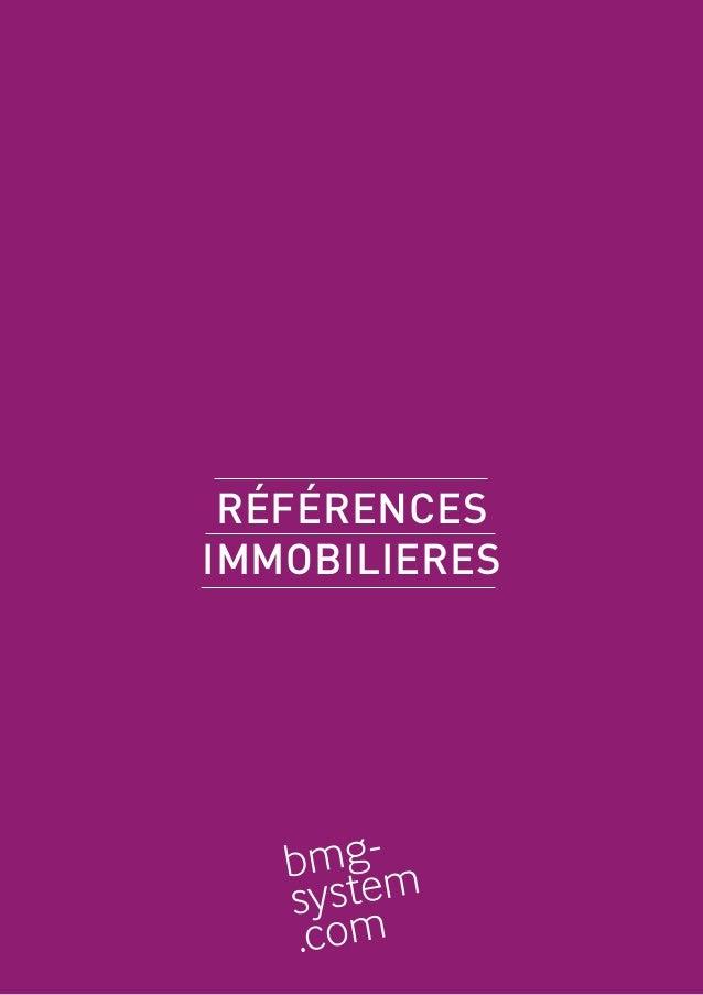 RÉFÉRENCES IMMOBILIERES