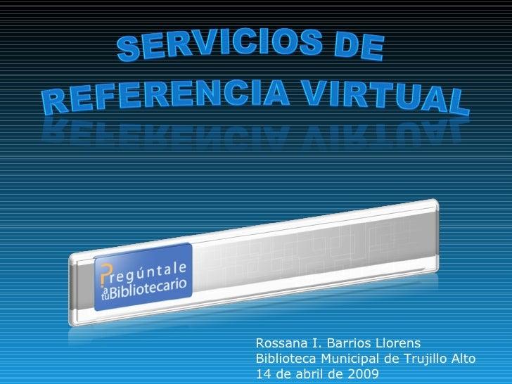 Referencia Virtual sin presupuesto
