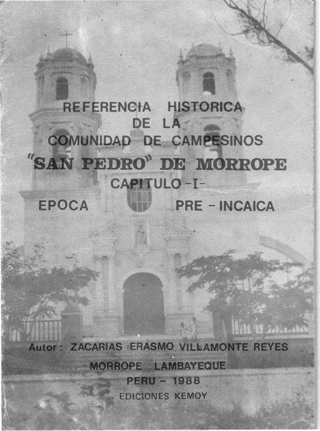 Referencia historica de mórrope lasdaper@hotmail.com