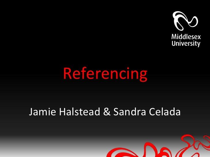 LDU-LR Avoiding Plagiarism session: Referencing Jan - Feb 2012