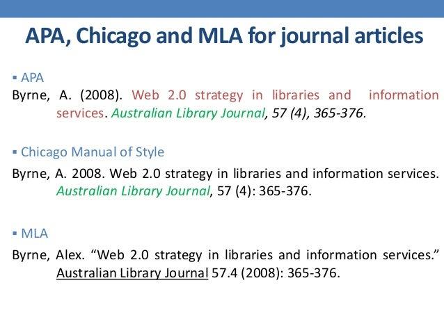 journal citation format