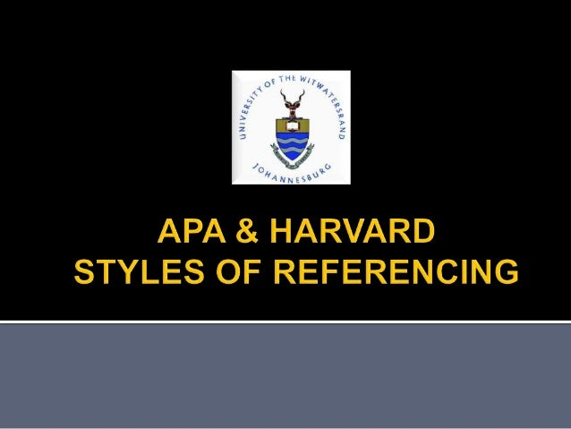 harvard style referencing format pdf