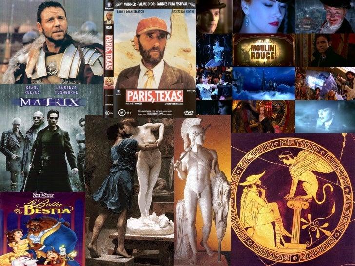 """2ª sesión """"Referentes clásicos y cine"""""""