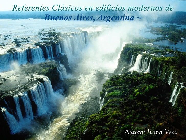 Referentes Clásicos en Argentina.