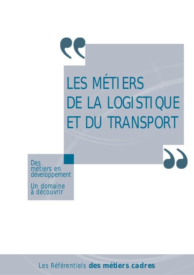 Referentiel logistique et transport