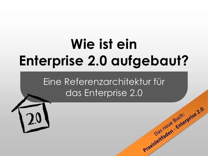 Eine Referenzarchitektur für<br />das Enterprise 2.0<br />Wie ist einEnterprise 2.0 aufgebaut?<br />Das neue Buch:<br />Pr...