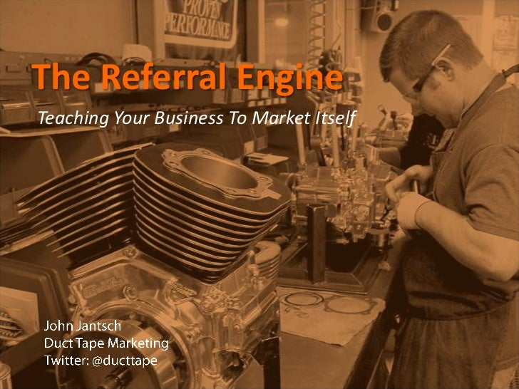 Referral engine john jantsch