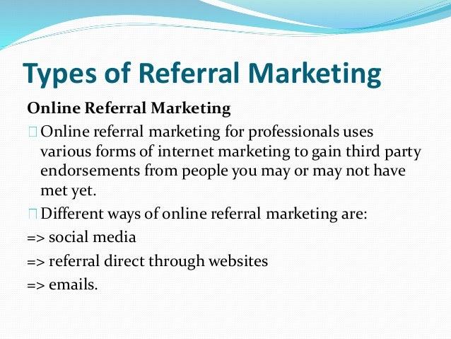 Referral marketing business plan