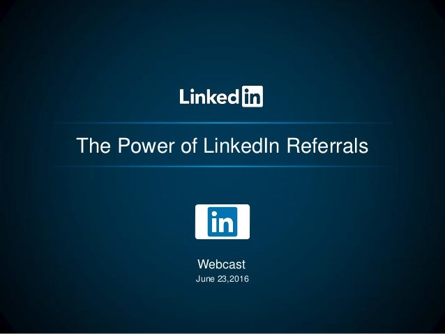 how to ask for referrals on linkedin