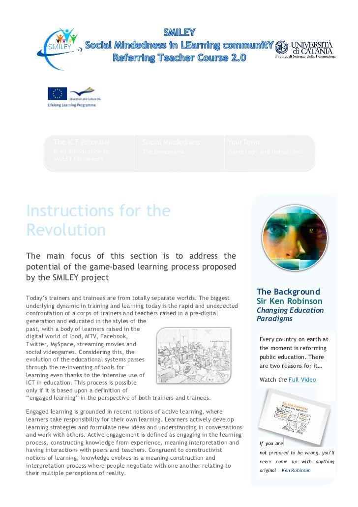 This project has been funded with support from the European Commission. This                            publication reflec...