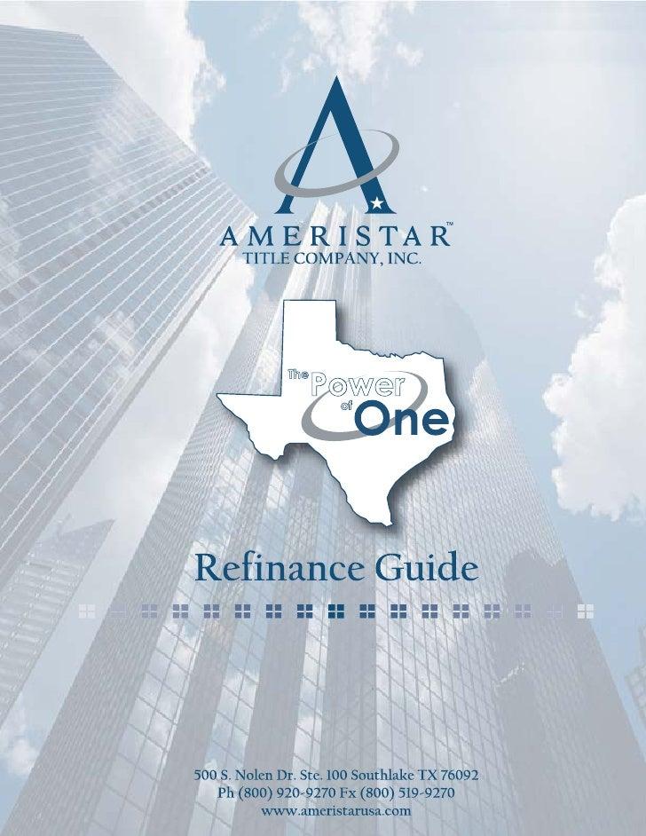 Refinance Guide Small
