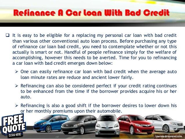 Refinansowanie moje auto kredyt ze złych kredytów