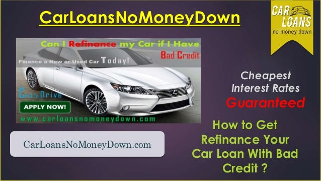 Auto Loan Refinancing  When to Refinance Your Car Loan
