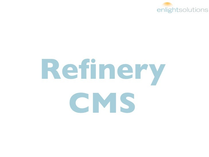 Refinery CMS: BostonRB CMS Showdown