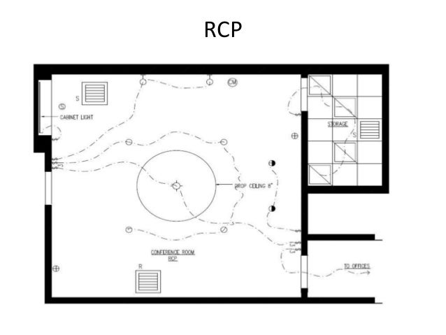 Reflected Ceiling Plan Rcp
