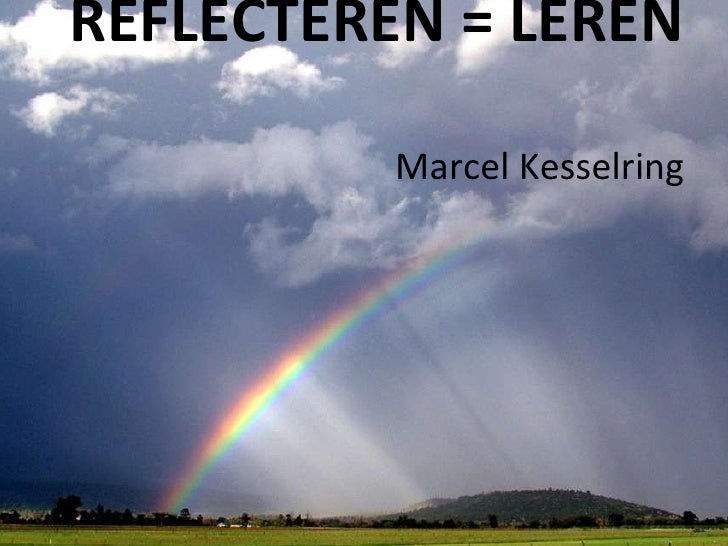 Reflecteren is leren
