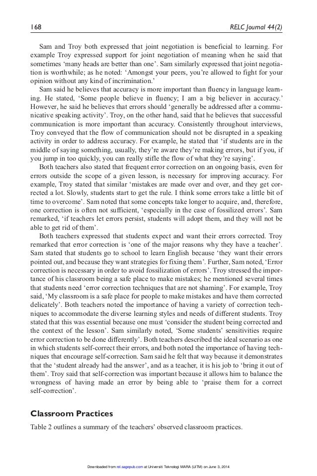 teacher self evaluation essay