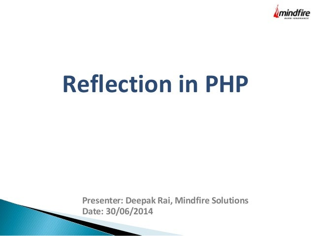 Reflection-In-PHP
