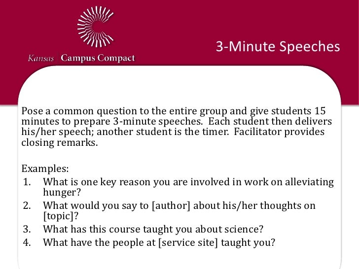 3 minute speech about education Providing you with quality already written speeches within minutes already written speeches motivational speeches inspirational speeches and more.