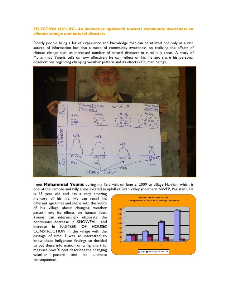 Reflection On Life  A Case Study From Village Harrian Siran Valley