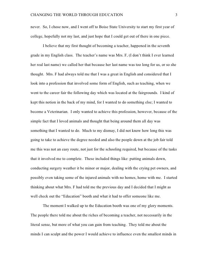 Reflective Essay  Oklmindsproutco Reflective Essay