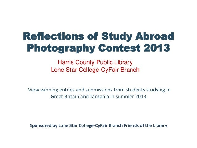 Reflections of Study Abroad Photography Contest 2013 View winning entries and submissions from students studying in Great ...