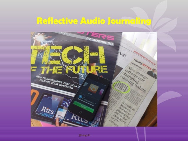 Reflective Audio Journaling