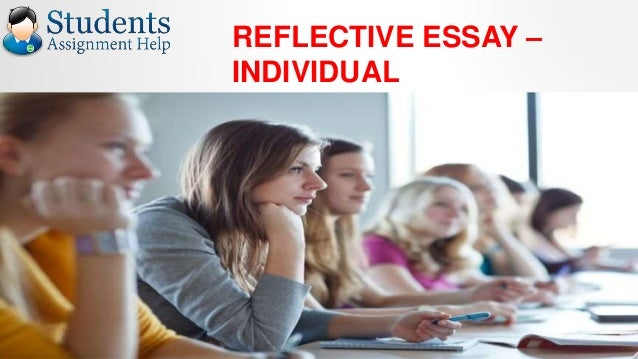 Reflective essay assignment