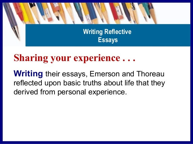 reflective essay on my experience with american literature The best way to ensure your english essay is both appealing and persuasive is by trusting reliable english essay writers to help you.