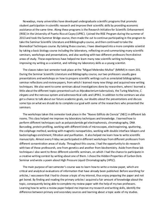 Richard stockton college admissions essay