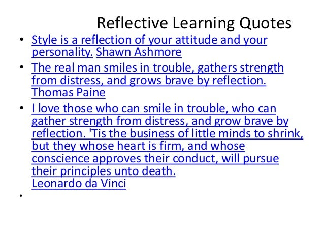 Critical thinking reflection and perspective quotes