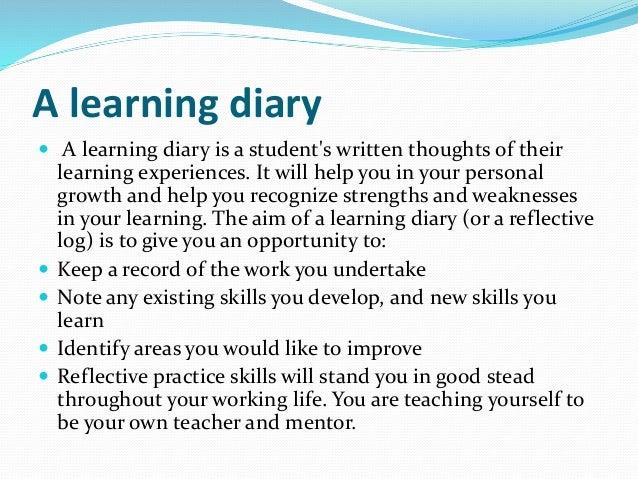 reflective practice essay