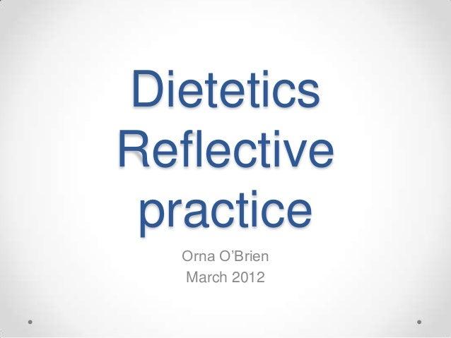 Reflective Practice Presentation