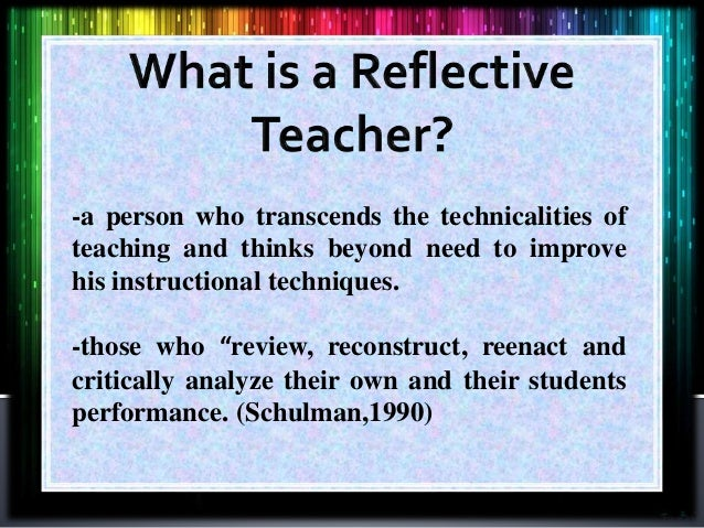 teaching assistant reflective essay