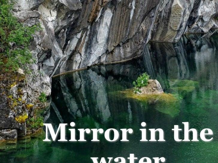 Reflejos en el agua 2.