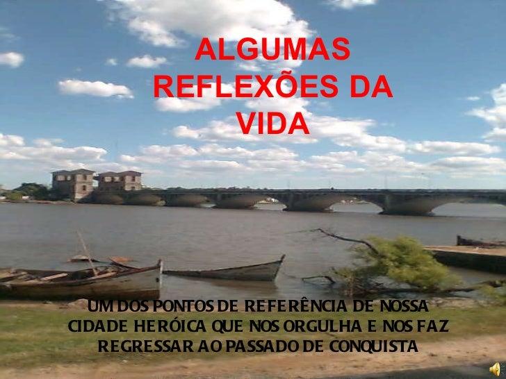 UM DOS PONTOS DE REFERÊNCIA DE NOSSA CIDADE HERÓICA QUE NOS ORGULHA E NOS FAZ REGRESSAR AO PASSADO DE CONQUISTA ALGUMAS RE...