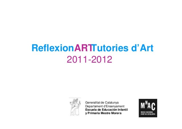 ReflexionARTTutories d'Art 2011-2012 (castellano)